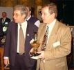 Финал Всемирного компьютерного турнира по преферансу «Кубок Марьяжа» — 1997, Москва— Поляк Тадеуш Радюш положил глаз на кубок